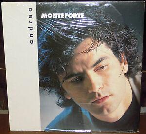 LP ANDREA MONTEFORTE s/t (Rti Music 92) cantautori Paoli SEALED SIGILLATO!