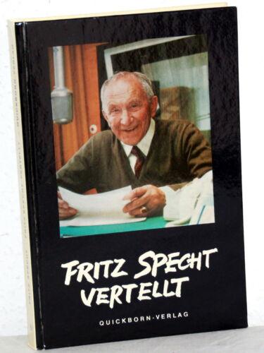 1 von 1 - FRITZ SPECHT VERTELLT - Fritz Specht