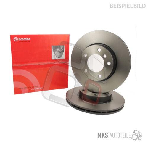 2 X original Brembo discos de freno recubierto eje delantero Mazda
