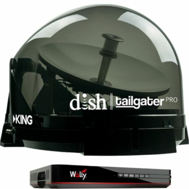 King Tailgater Pro DTP4950 Premium Satellite Portable TV Ant