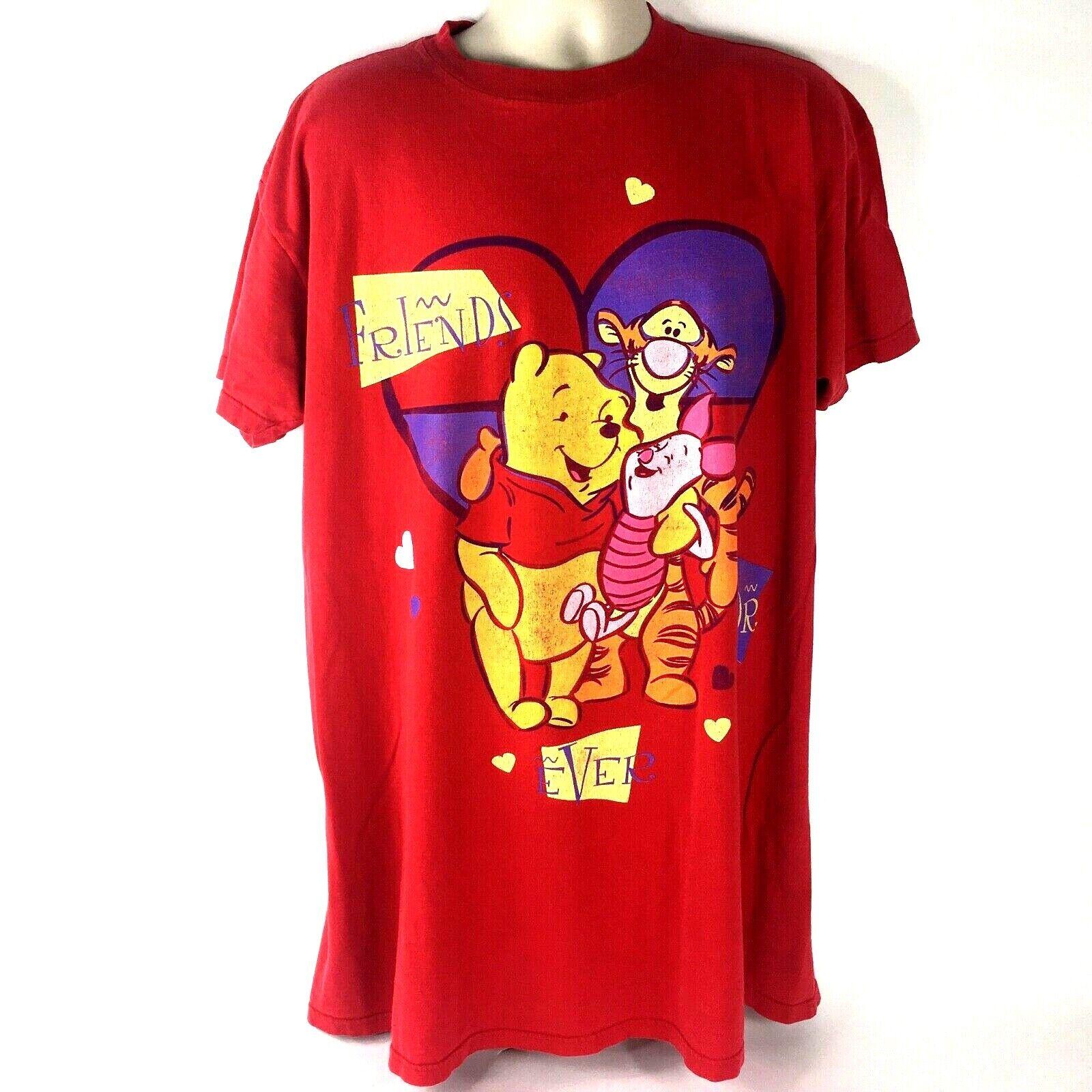 Disney Sleepwear Pooh One Size Fits All Vintage T-Shirt Friends for Ev Tigger