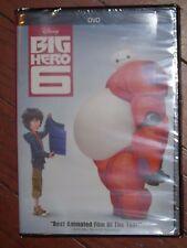 Brand NEW Disney Big Hero 6 Movie DVD Bonus Extras Film French English Spanish