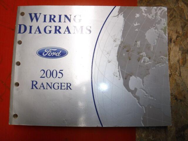 2005 Ford Ranger Original Factory Wiring Diagrams Manual