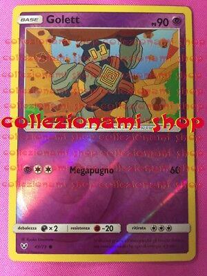 POKEMON QWILFISH REVERSE HOLO FOIL LEGGENDE IRIDESCENTI 21//73 in ITALIANO