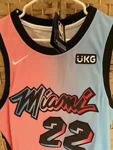 2020 Jimmy Butler #22 Miami Heat Basketball Jersey Stitched Black City Edition