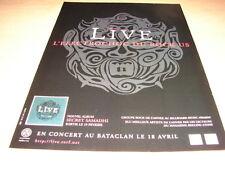 LIVE - SECRET SAMADHI !!!!!!!!!!!!!!FRENCH PRESS ADVERT