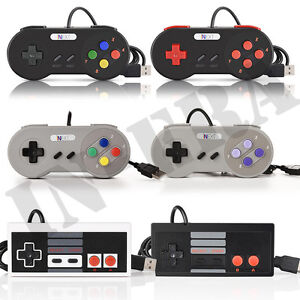 Details about 2PCS SNES & NES USB Retro Classic Controller For Raspberry Pi  3 PC Win MAC OS