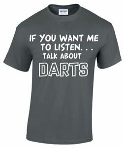 Talk-About-Darts-Funny-Mens-T-shirt-Gifts-Darting-Sport-T-shirts-Up-To-5XL-MT154