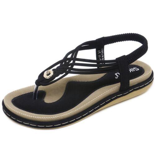 2019 Style Ladies Sandles Flip on Flops Ladies Boho Thongs Sandals Summer Beach