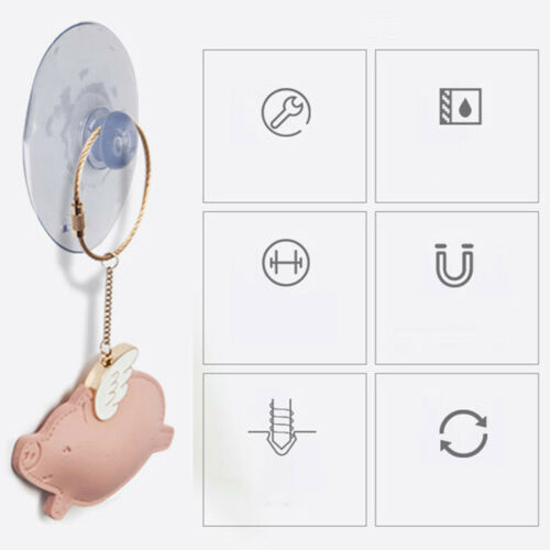 Wide Range 10pcs Suction Cups Any Type Clear Plastic//Rubber Window Suckers