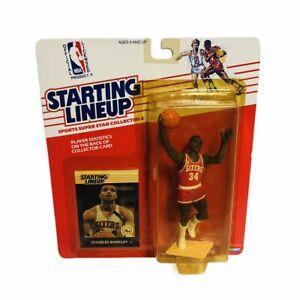 Charles Barkley 1988 Kenner Starting Lineup In Package NBA HOF 76ers