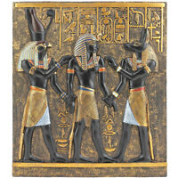 Ancient Egypt Egyptian Decor Goddess King Wall Sculpture Artwork African God Art
