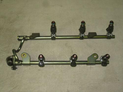 Set 02 03 Altima Maxima I35 Fuel Injectors /& Rail Pressure Regulator 3.5L 6 Cyl