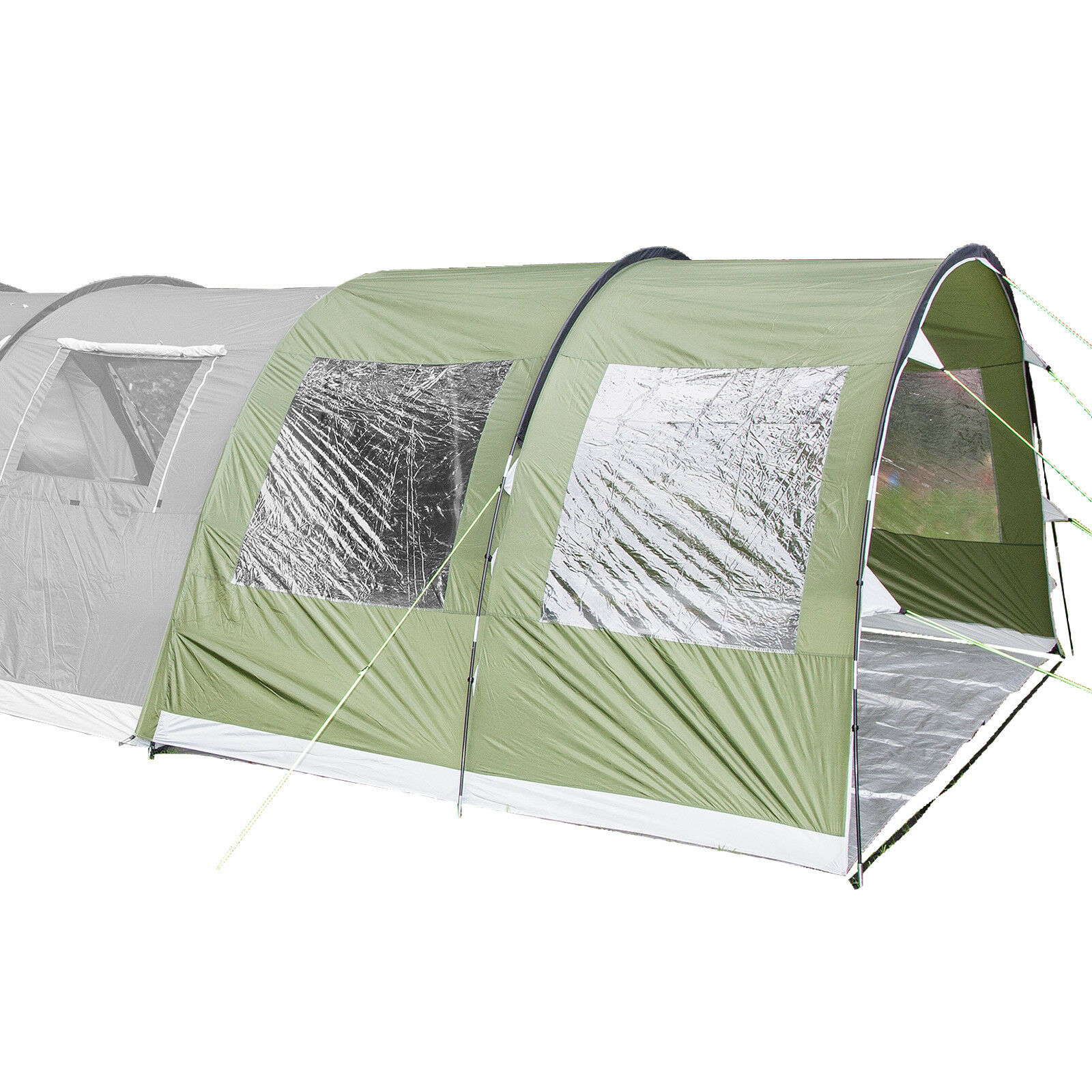 Skandika GOTLAND Canopy 5 Awning Weather Prougeection 370x240x210 cm vert nouveau