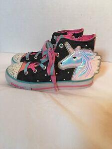 Twinkle Toes Hi top Unicorn Sneakers