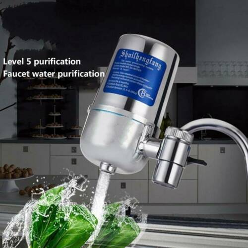 Kitchen Water Faucet Filter Sink Bathroom Mount Filtration Tap Purifier System