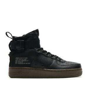 Details about NEW Womens NIKE AIR Force 1 Special Field Mid Trainers Black AA3966 003