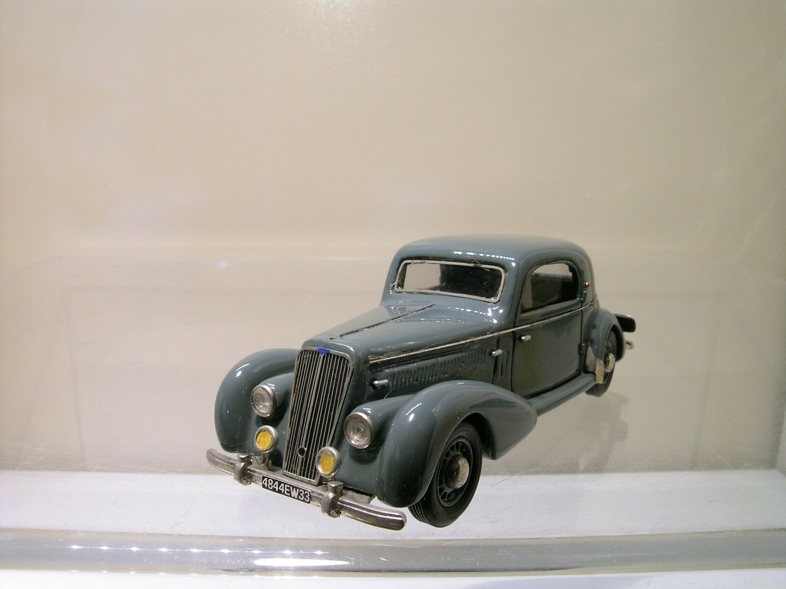 MA COLLECTION No.48 SALMSON  S4 61 COUPE 1949 gris RESIN HANDBUILT No.8 1 43  pour la vente en gros