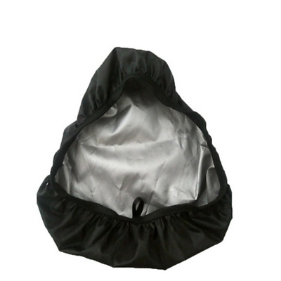 Plastic Rainproof Bike Seat Cover Bicycle Saddle Rain Cover Black Soft #BZ3