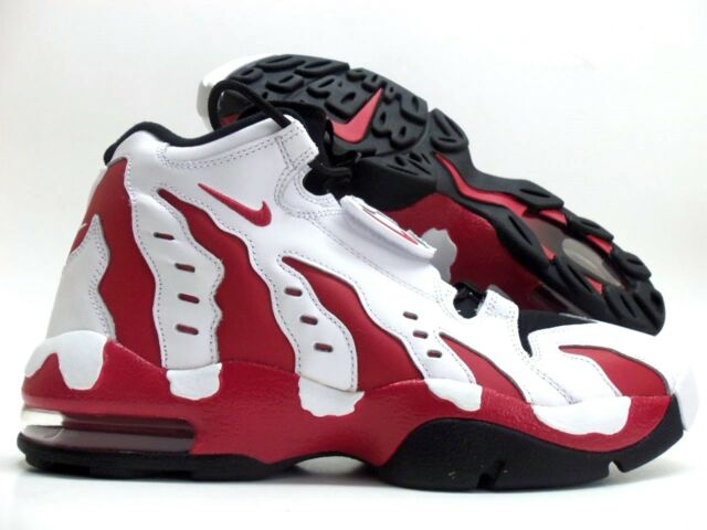 Nike Air DT Max 96 White Red Black Deion Sanders Diamond Turf Lil ... 276b1ffe37