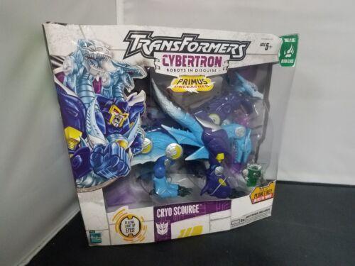 TransFormers Cybertron RID Primus Unleashed CRYO SCOURGE Ultra Class Hasbro 2006