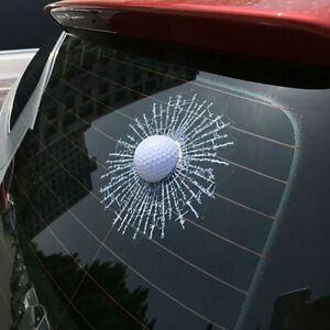 3D-Car-Auto-Stickers-Golf-Ball-Hitting-Car-Body-Window-Sticker-Decal-Windshield
