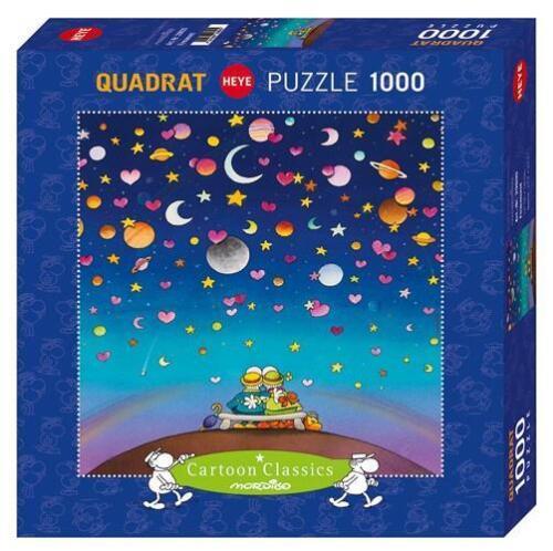HEYE CARTOON CLASSICS PUZZLE MORDILLO FIRMAMENT 1000 PCS #29800