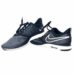 70ea35414845a Nike Zoom Strike Black White Dark Grey AJ0189-001 Men s Running Shoe ...
