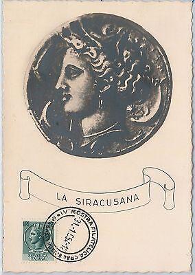 Lower Price with Maximum Card - Art - Italy 1954 : Siracusana Long Performance Life