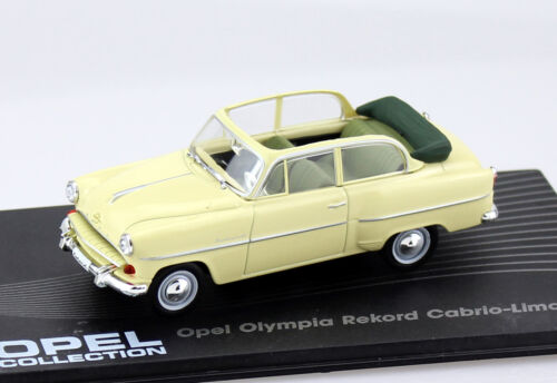 Die-cast Opel Olympia Rekord 1954-1956 1:43 Ixo//Altaya Modellauto