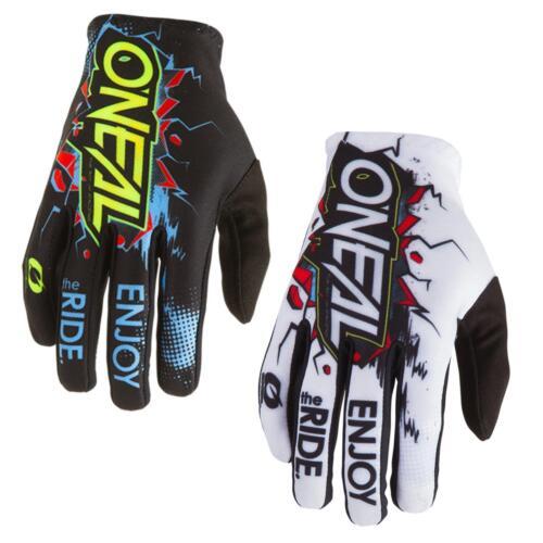 O /'Neal Element Fr bloccanti JERSEY BLU NERO MAGLIA MTB DH MX Motocross Fuoristrada