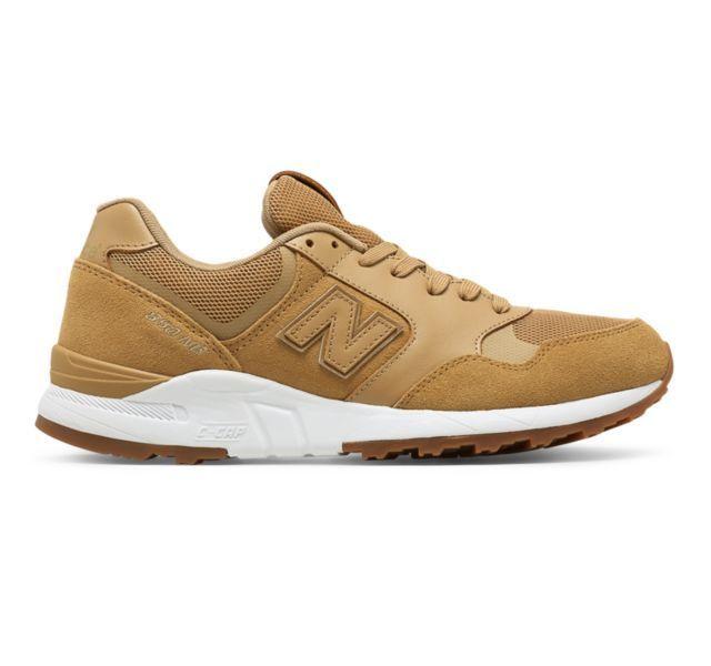 NEW* New Balance 850 Men's Shoes ML850WG 90's Running Wheat GUM White Lifestyle