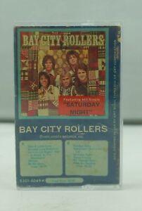 BAY CITY ROLLERS Self Titled (1975) Blue Vintage Rock Cassette Tape 5301-4049