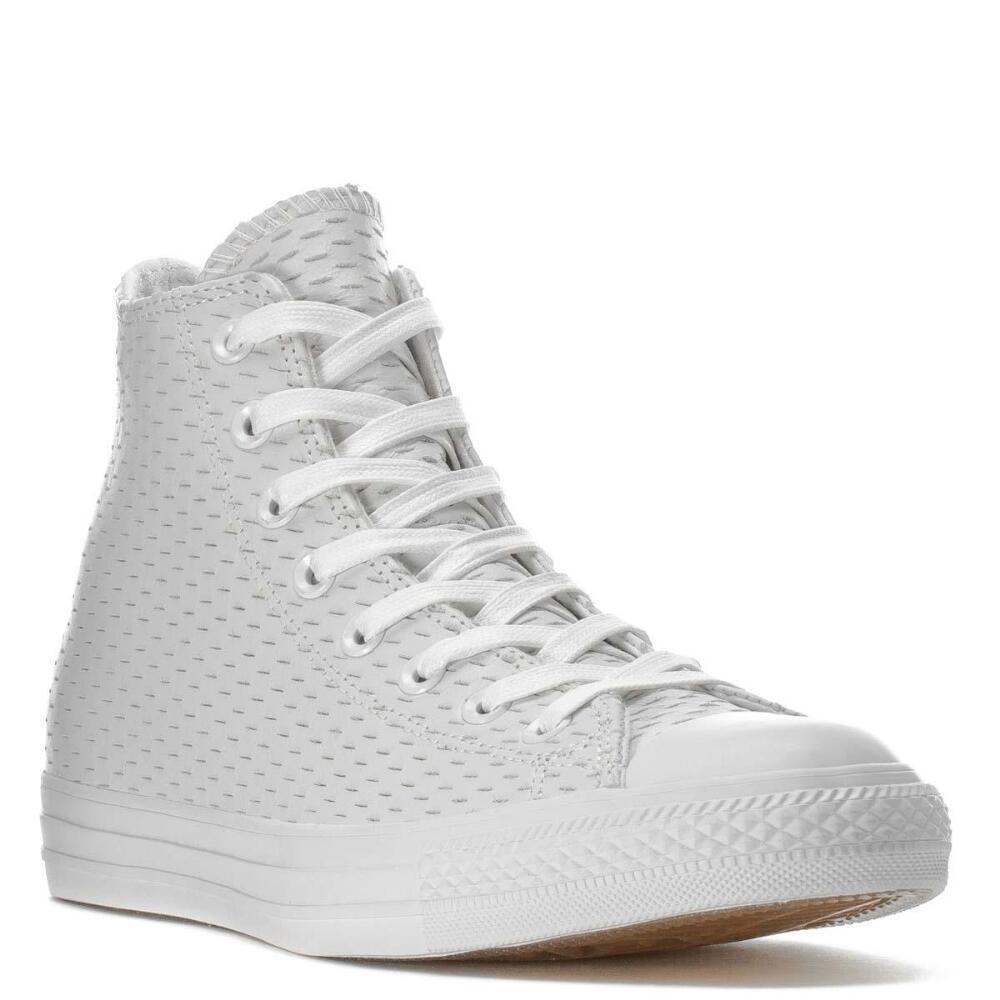 Converse Chuck Taylor All Star Hi blancoo oro 153115C Zapatos para hombre Talla 6 7 8