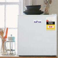 Mini Bar Fridge Refrigerator 48l Cooler Home Caravan Office Adjustable Temp