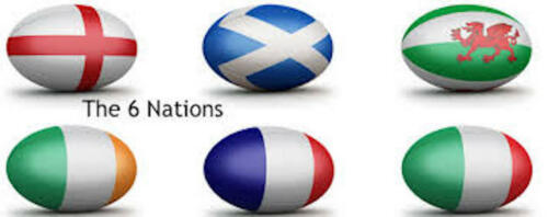 10 Metres Of Rugby 6 Nations Bunting England Ireland Scotland Wales France Italy