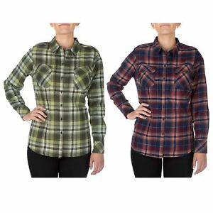 5-11-Tactical-Women-039-s-Heartbreaker-Flannel-Shirt-Style-62382-Sizes-XS-XL