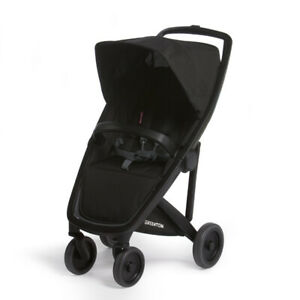 Classic Greentom UPP Lightweight Stroller, Adapters & Rain Cover Black