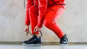 D'origine Nike Le Titre Fleece Jogger Pantalon Sur Rouge727355 Détails Afficher Tech 696Medium sQtdhr