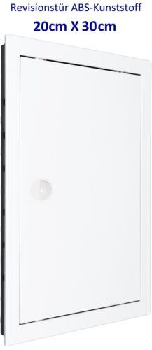 Revisionstür Revisionsklappe Hochwertig ABS-Kunststoff weiß 20 x 30 cm EU Marke
