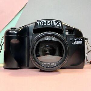 VINTAGE-tobishika-FMD-fuoco-fisso-35mm-Film-Camera-Con-Cinturino-amp-Copertura-LOMO-Retro