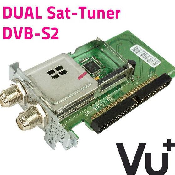 VU+ Uno Ultimo Plug and Play DVB-S/S2 Dual / Twin Tuner