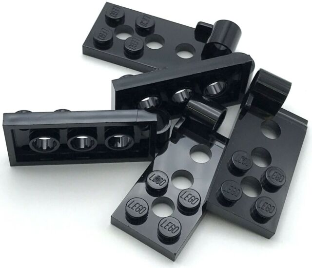 LEGO Lot of 2 Black Hinge 4x4 Car Roof Pieces