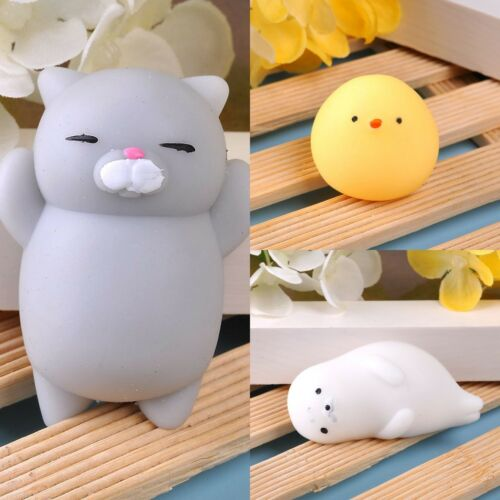 Lovely Stretch Japan Mochi Squeeze Toy Soft Anima Press Doll Squishy Hot