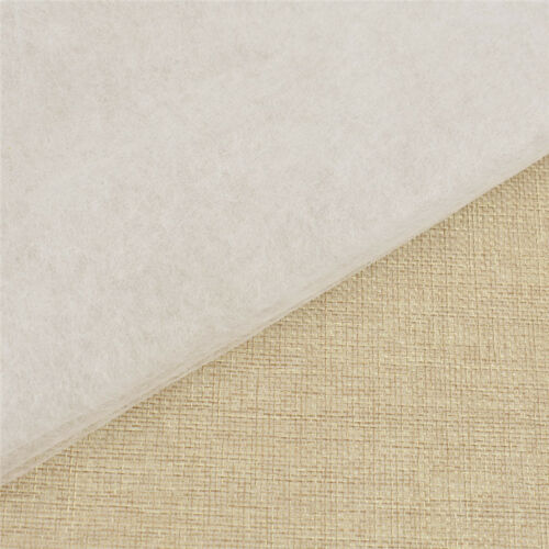 1x Iron On Double Faced Adhesive Fabric DIY Interlining for Sewing Clothes Dress