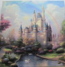 Thomas Kinkade A New Day at the Cinderella Castle