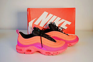 Nike-Air-Max-Sportschuhe-Gr-11-in-Neon-Orange-pink-Lila-Np-240-Kn