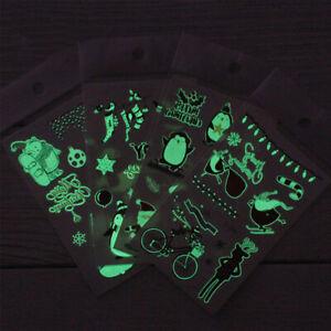 Twilight-Temporary-Tattoo-Sticker-in-Dark-Christmas-Glowing-Night-Light-P