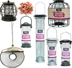 PEANUT FEEDER - Wild Bird Kernel Feeding Tube kf Hanging Feed fad Nuts Holder