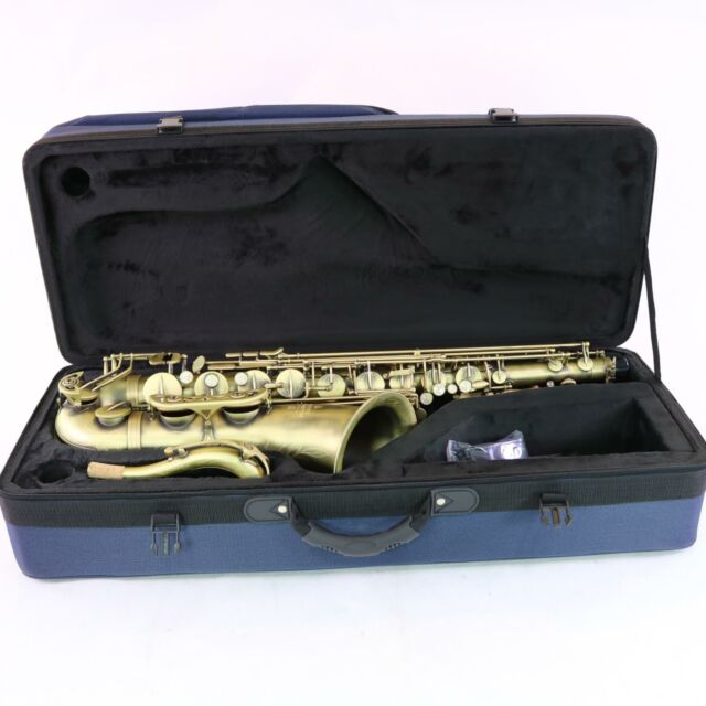 Peachy Buffet Crampon Model Bc8402 4 0 Tenor Saxophone In Matte Finish Mint Condition Interior Design Ideas Helimdqseriescom